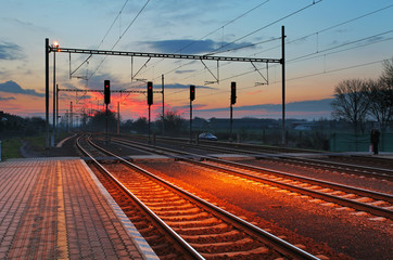 Passager train station