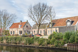 Houses in an historic Dutch village
