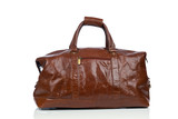 Brown vintage leather bag