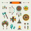 Ethnic seamless pattern in native style. - 62077113