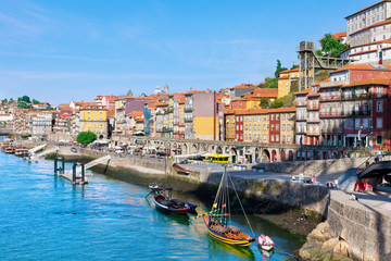 Porto, Portugal, early in the morning