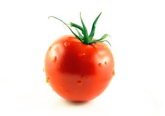 Pomodoro rosso bagnato