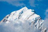 Mountains peak. Mount Cook. New Zealand