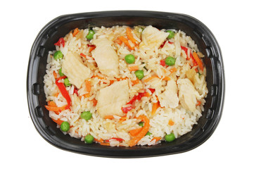 Chinese chicken and rice