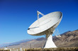 Satellite dishes in desert / clear blue sky - 62084300