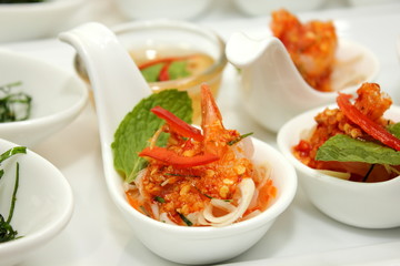 shrimp with spicy sauce