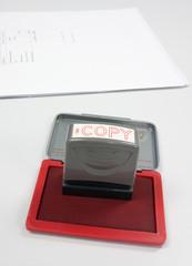 Copy stamper
