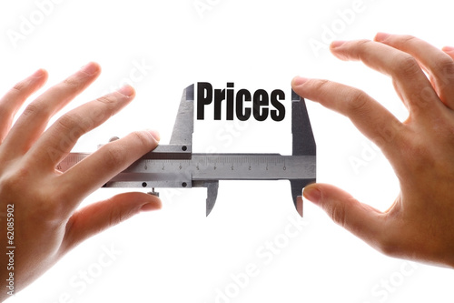 The size of our prices