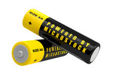 Batteries - Powered by Microstock
