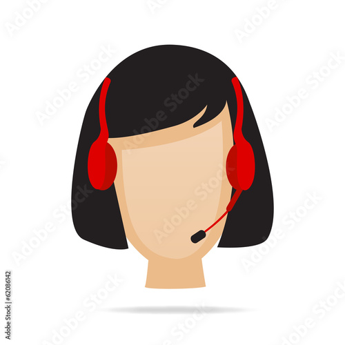 Customer Service Support Illustration