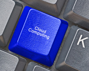 Keyboard for access of cloud computing