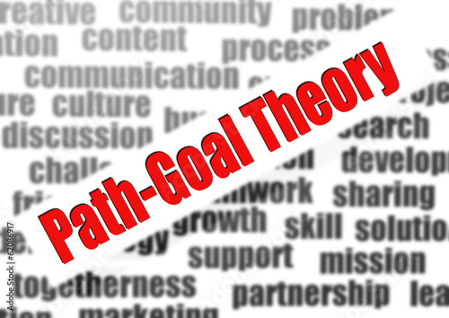 Path-goal theory word cloud