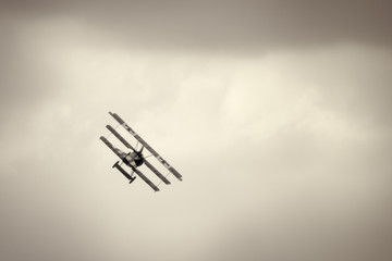 Fokker Dr.I triplane in the sky