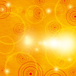 Abstract orange summer background
