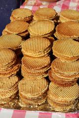 Gaufres fourrées - Waffles northern France / Belgium