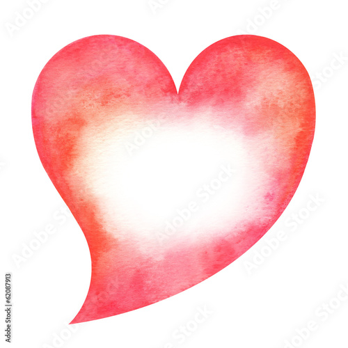 Heart shaped card