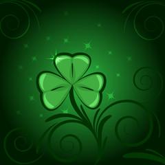 Sfondo verde trifoglio
