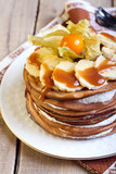 Chocolate thin pancakes