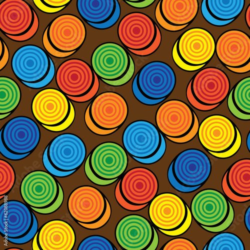 checkers colorful seamless pattern