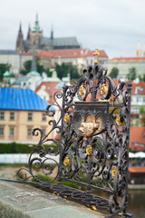 Shrine at Charles Bridge in Prague