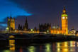 Dark Clouds over the Houses of Parliament