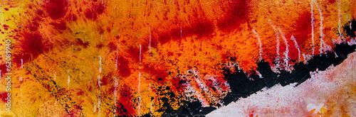 Fotobehang Olieverf Kunstdruk Abstrakte Kunst Gemälde Ölgemälde Kunstdruck