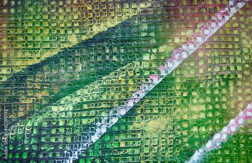 Muster abstrakt Gemälde Ölgemälde Kunstdruck © artefacti