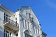 Giebel mit französischem Balkon