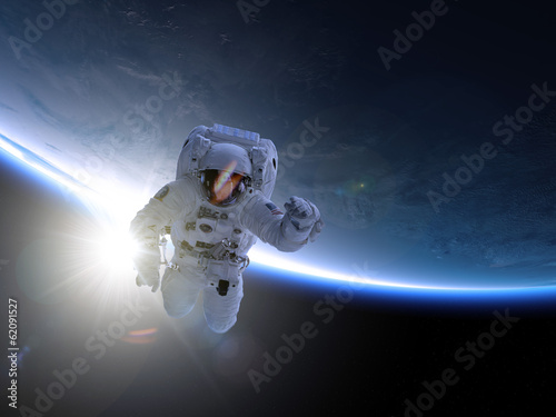 Leinwanddruck Bild Astronaut