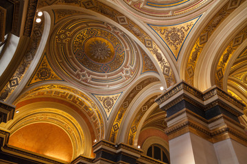 Dome in the Wiener Musikverein.