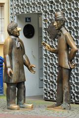 Tünnes und Schäl Denkmal Köln