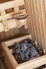 Finish Sauna details