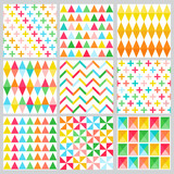 Geometric Background Collection - seamless patterns