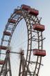 Wiener Riesenrad,ferris wheel in the Prater, Vienna