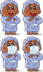 Surgeon Bear, part of a series