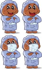 Surgeon Bear, part of a series
