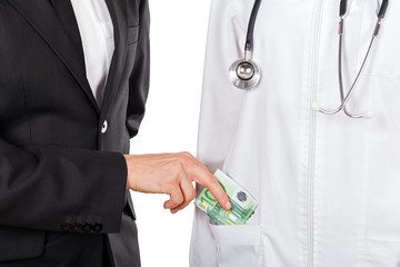 Paying for medical services