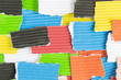 pieces of colored construction paper