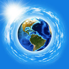 Image of earth planet