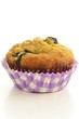 Blueberry banana muffin