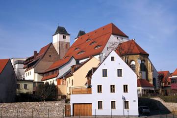 Häuser Freiberg Sachsen - Bergabeiterstadt