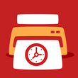 print out images  Clock.