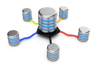 Database servers connection