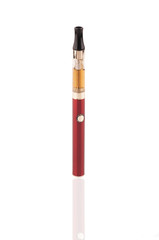 Electric cigarettes isolated on the white