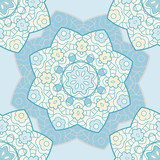 Bright lace seamless pattern
