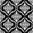 Ornate damask seamless pattern design