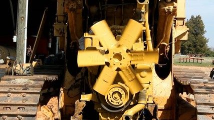 Spinning Fan And Loose Belts On An Engine