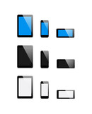 vector set mobile Devices - Illustration