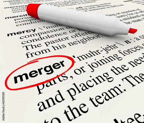 Merger Dictionary Definition Combining Companies Word
