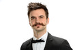 Young Businessman With Fancy Mustache